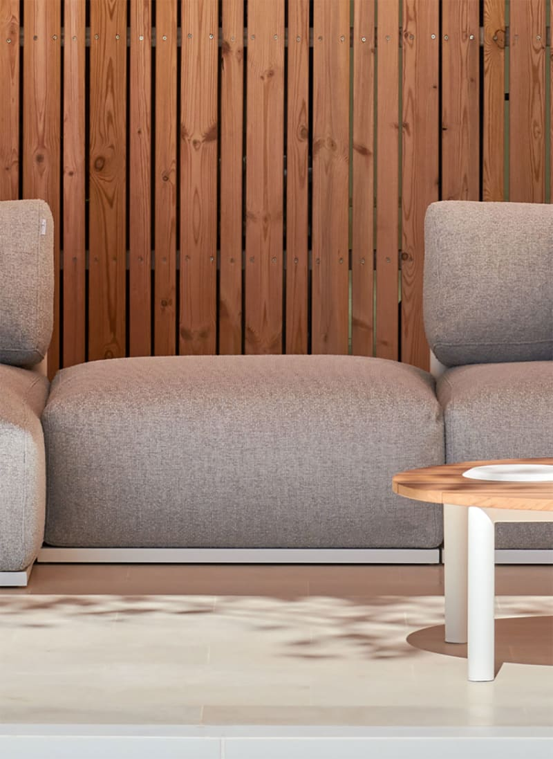 2. Made Studio, Bosc Sectional Pouf