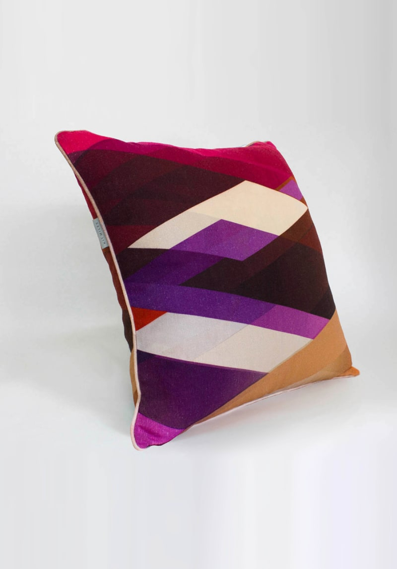 Diagonal-Gradient-cushion