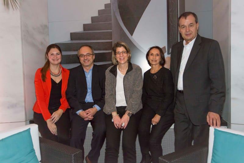 Stefanie Mülders, Dagmar Rakel, Borivoj Markov, Eva und Bernd Ehrengart
