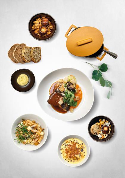 """Gourmet-Delivery-Startup """"Sublim Deli"""" liefert auf Porzellan von Rosenthal"""
