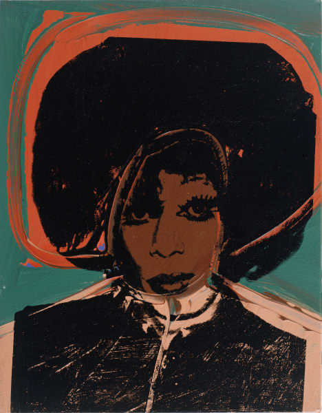 "Andy Warhol (1928 – 1987).""Ladies and Gentlemen (Helen/Harry Morales)"", 1975."