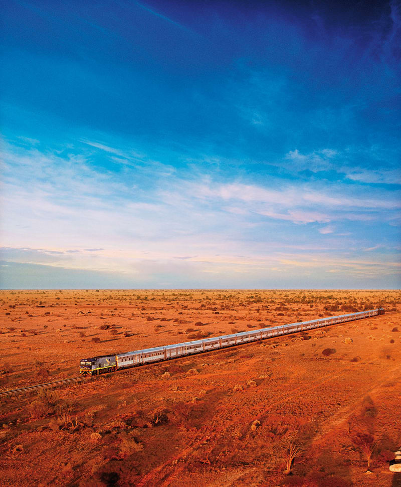 The Indian Pacific, Australien
