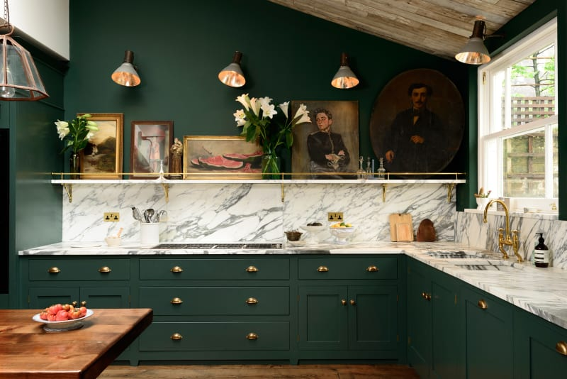 Küche mit Bildern von DeVol