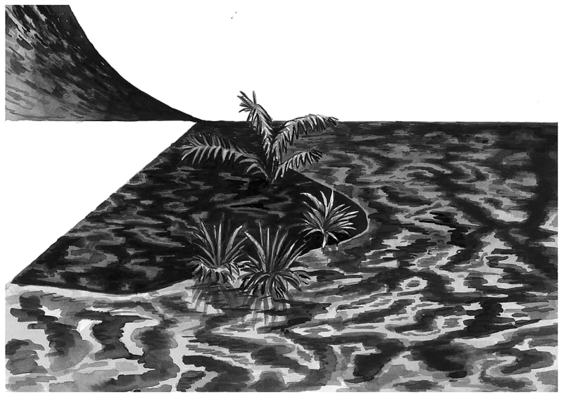 Yoann Pisterman, Painting, Black Hole