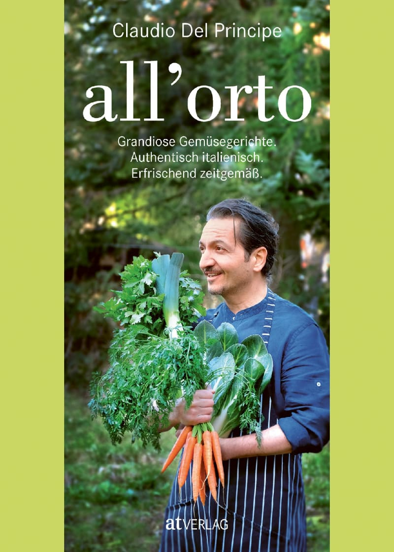 "Buchcover: ""All'orto"" von Claudio Del Principe, AT Verlag"
