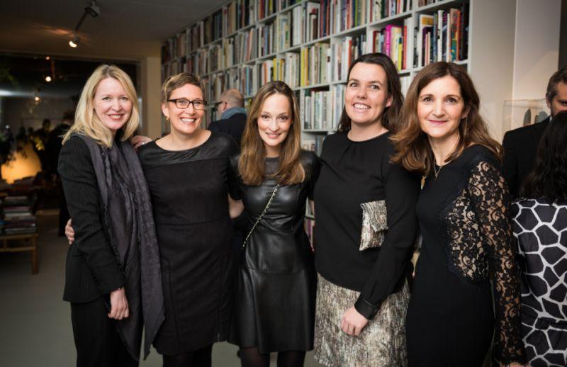 AD & MONOQI Design Award: Ingrid Hedley, Dr. Sibylle Beate Waegner, Andrea Latten, Sophie Seidenath, Susanne Förg-Randazzo