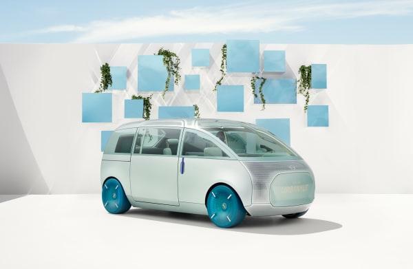 """Minivan mit Bulli-Genen: Der """"Urbanaut"""" ist im Moment nur Konzept, Markteinführung ist keine geplant."""