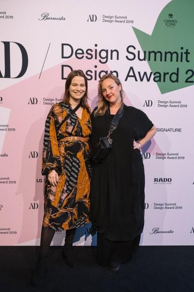 Das schwedische Designer-Duo Ellen Berglund und Anna Gudmundsdottir von Malmö Upcycling Service sind Gewinner des diesjährigen AD Design Awards 2019.