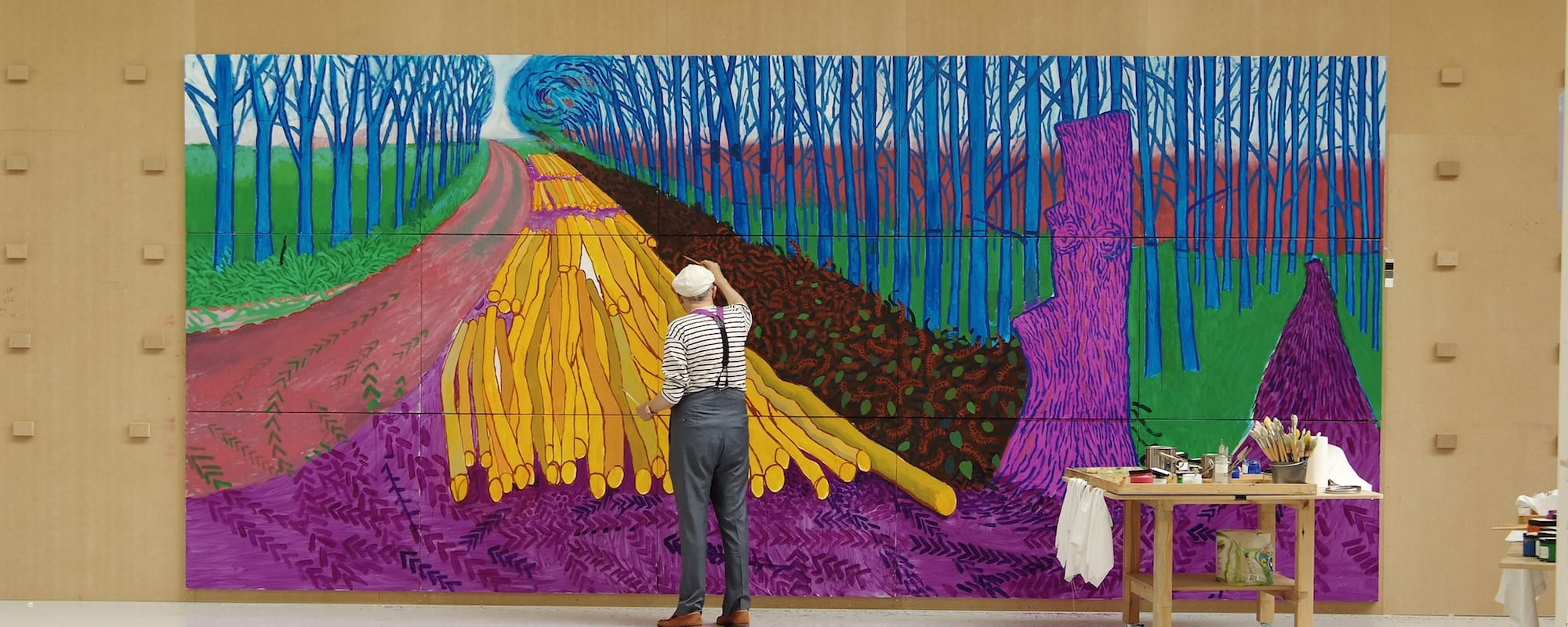 David Hockney at the Royal Academy of Arts: A Bigger Picture 2012 & 82 Portraits and One Still-Life 2016