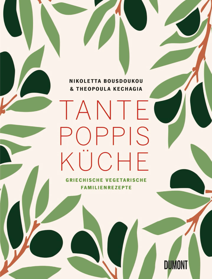 "Buchcover: ""Tante Poppis Küche"" von Nikoletta Bousdoukou, Dumont"