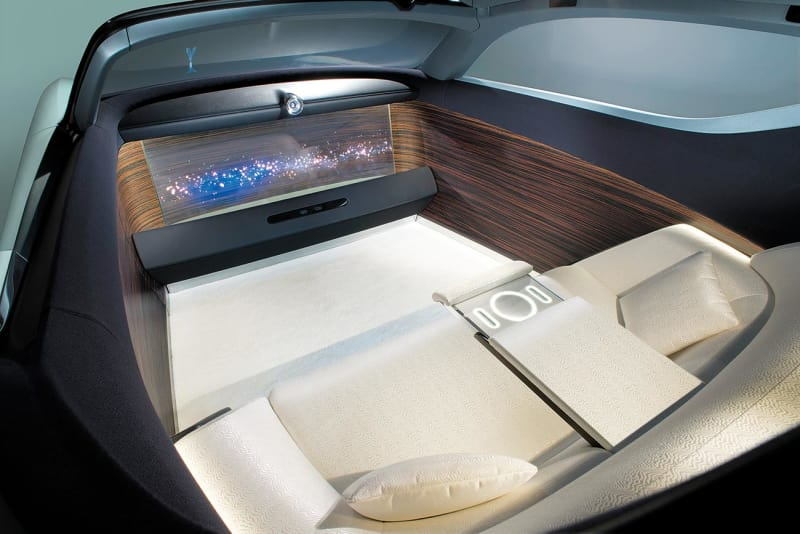 Rolls-Royce Vision Next 100 Innenraum