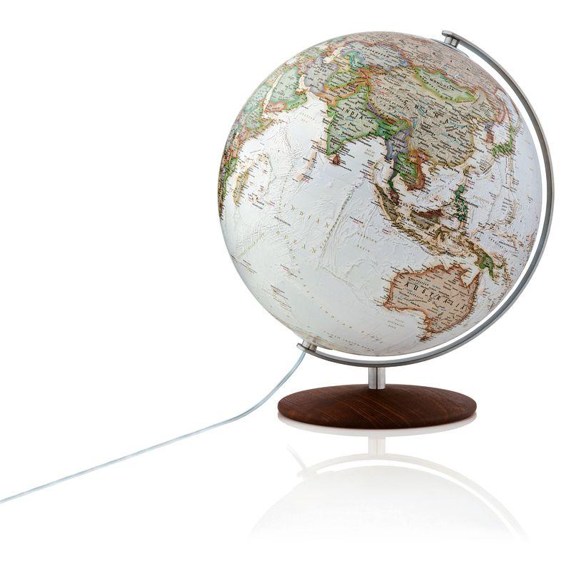 Räthgloben Globus