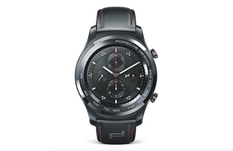 """Porsche Design Huawei Smartwatch"""