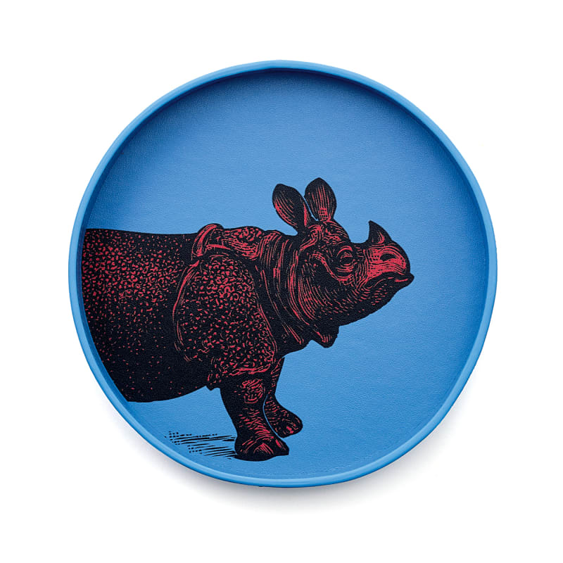 "1. Smythson, ""Bond Animal Rhino Key Tray"""