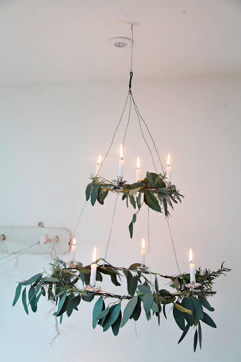 Blätter und Zweige