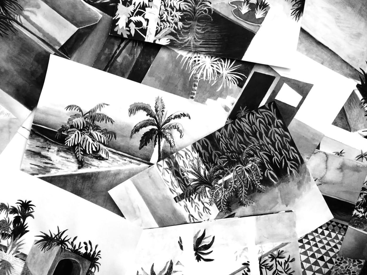Yoann Pisterman, Dreamlandscape, Collage