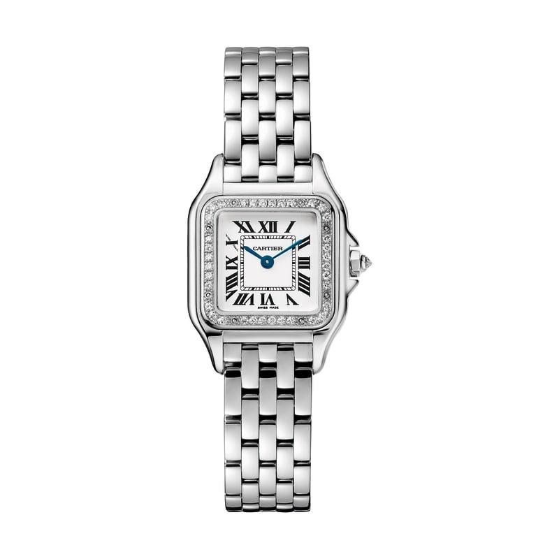Cartier Uhr silber