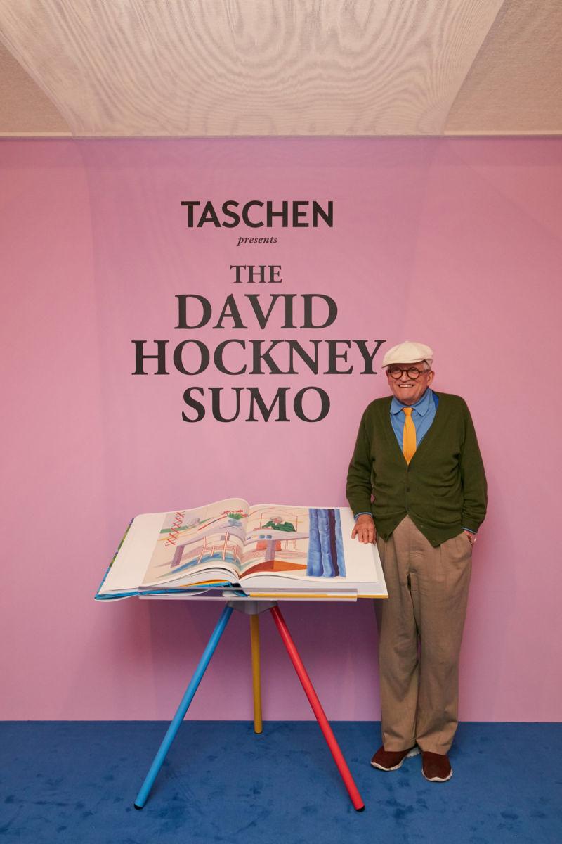 David Hockney Sumo A