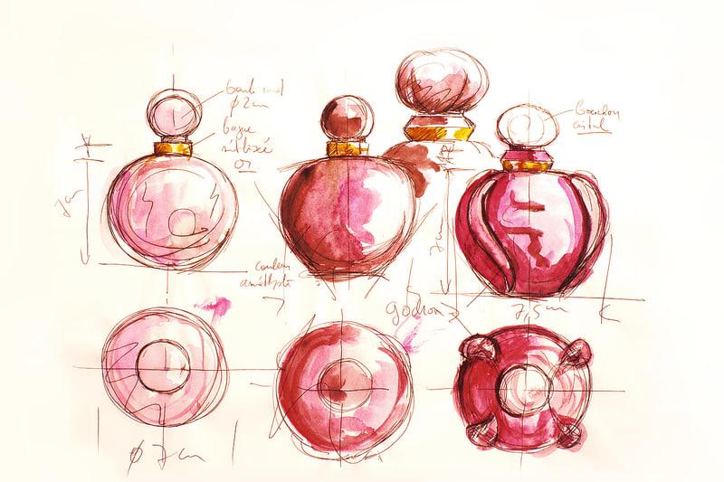 Studien für den Poison Flakon, 1985