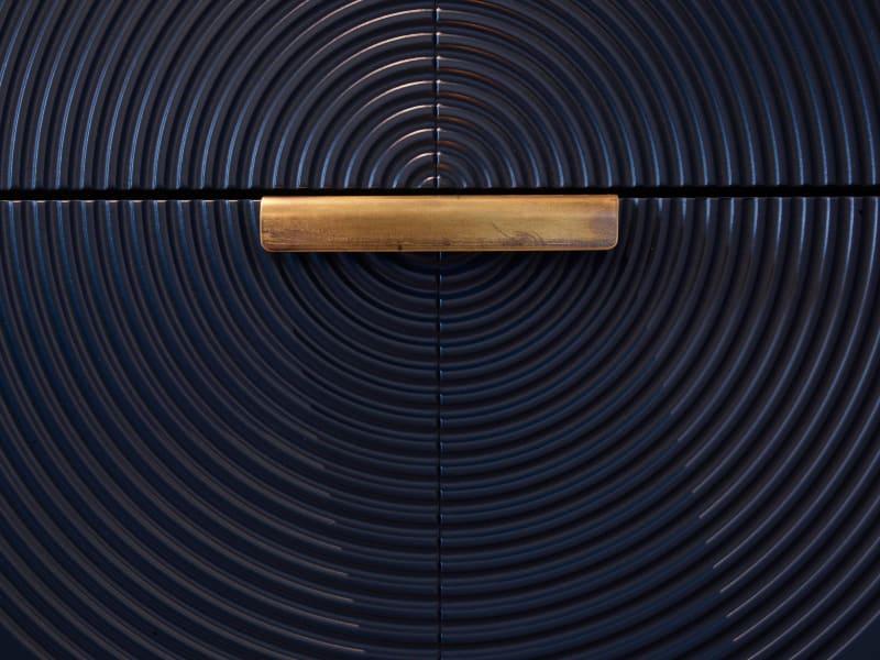 CNC-gefrästes Dekor einer Küche von Woodtiles und Lecubi