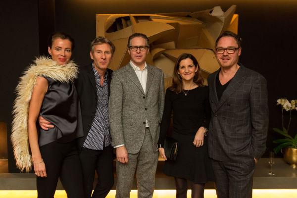 Dr. Alice Trier-Franzen, Marc Meiré, Robert Volhard, Susanne Förg-Randazzo und Oliver Jahn.