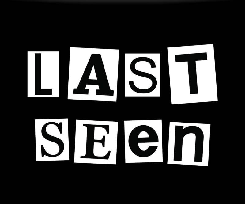 "14. ""Last Seen"""