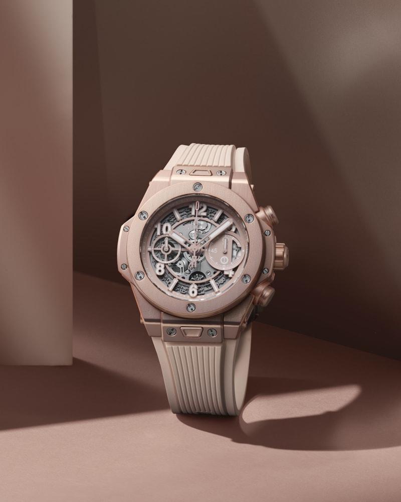 Hublots neue Uhr in Millennial Pink