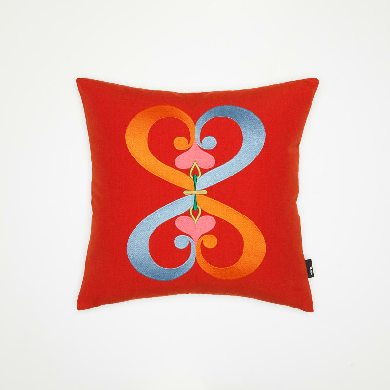 "8. Vitra, ""Embroidered Pillow"""
