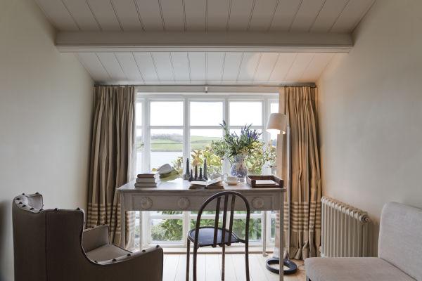 Aus dem Hotel blickt man aufs Meer – St Mawes liegt an der Südküste der englischen Grafschaft Cornwall.