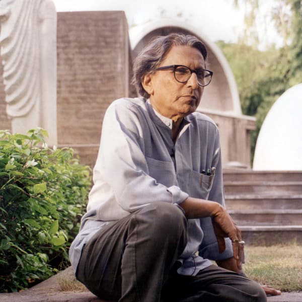Der Preisträger Balkrishna Doshi
