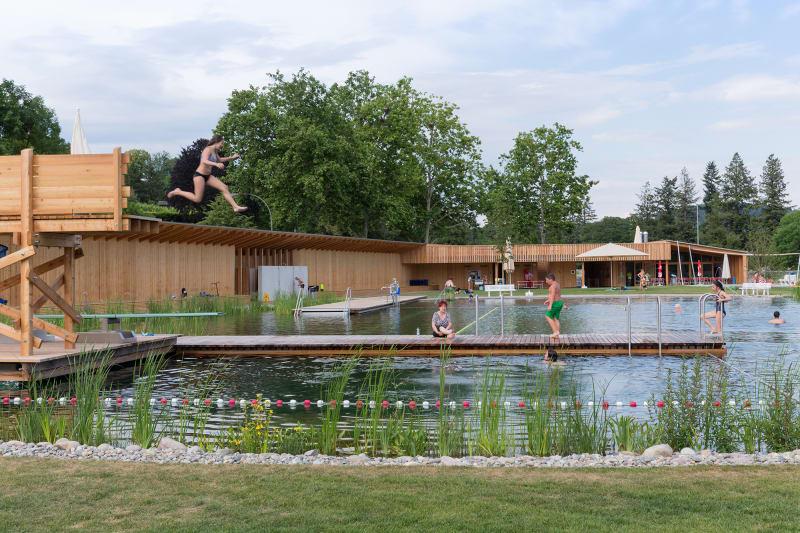 6. Naturbad Riehen