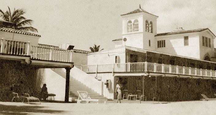The Surf Club, historische Ansicht