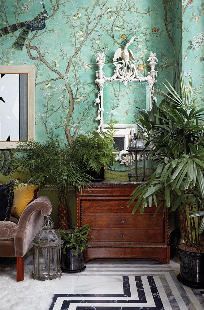 handgefertigte tapeten ad. Black Bedroom Furniture Sets. Home Design Ideas