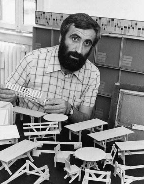 Enzo Mari, 1974.