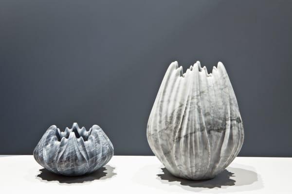 """""""Tau Vases"""" von Zaha Hadid für Citco."""