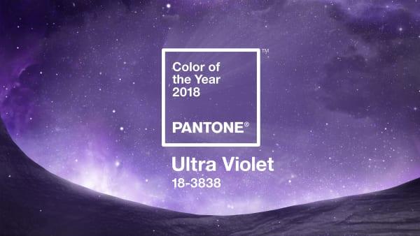 Trommelwirbel! Ultra Violet ist die Farbe des Jahres 2018.