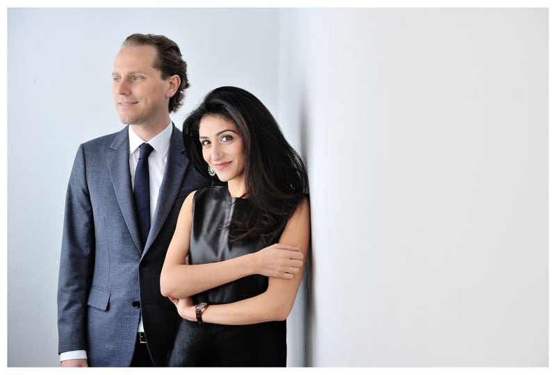 Yasmin und Christian Hemmerle