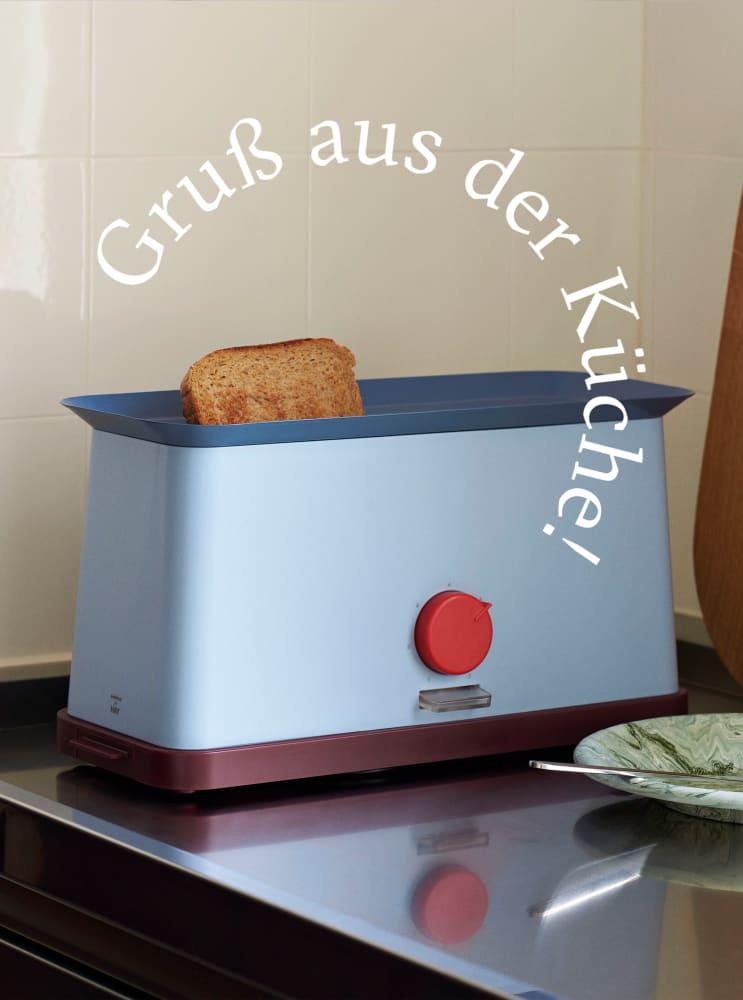 Bringt Schwung in Ihre Morgenroutine: Hays Toaster von Design-Ikone George Sowden