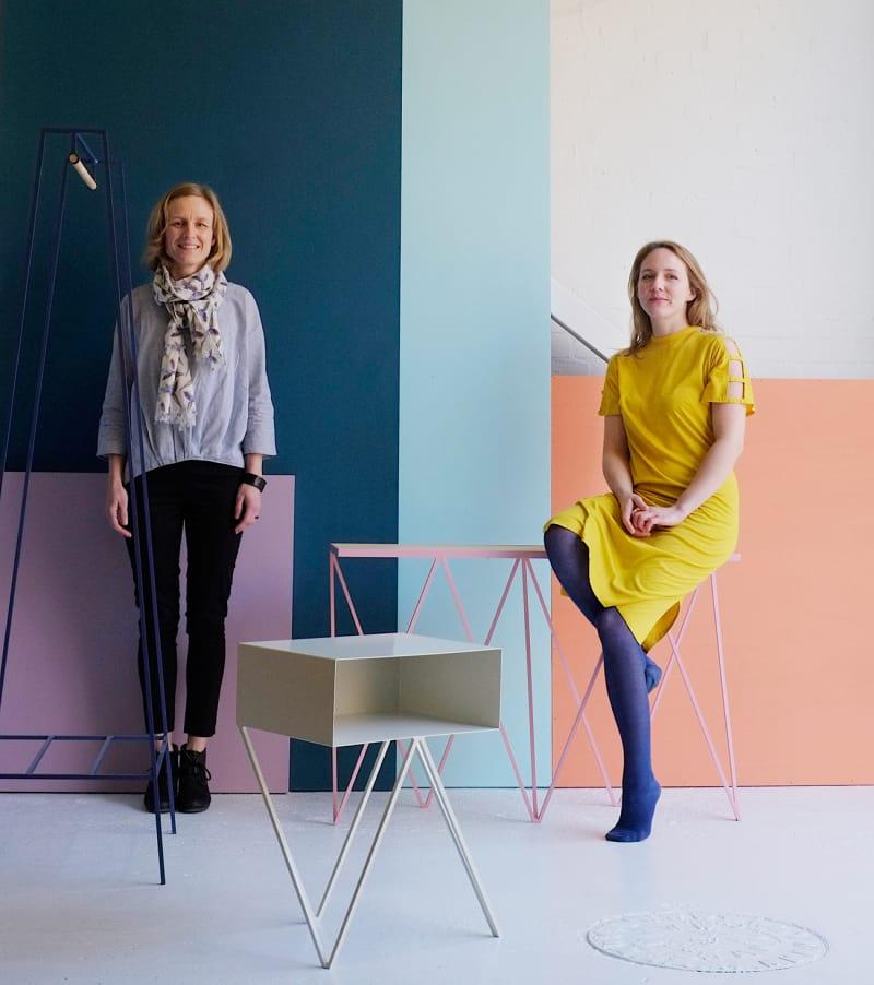 Mirka-Grohn-and-Jo-Wilton-at-&New