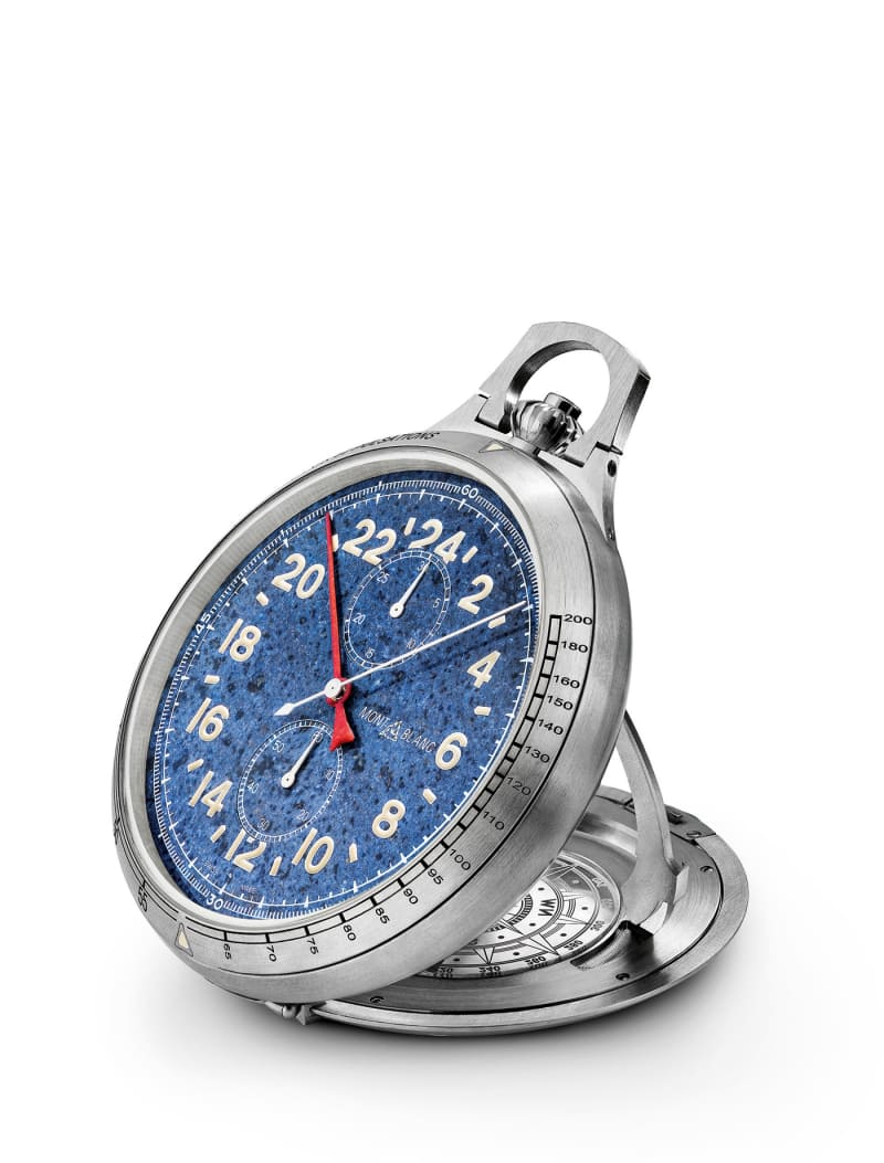 "Montblanc, ""1858 Pocket Watch Limited Edition 100"""