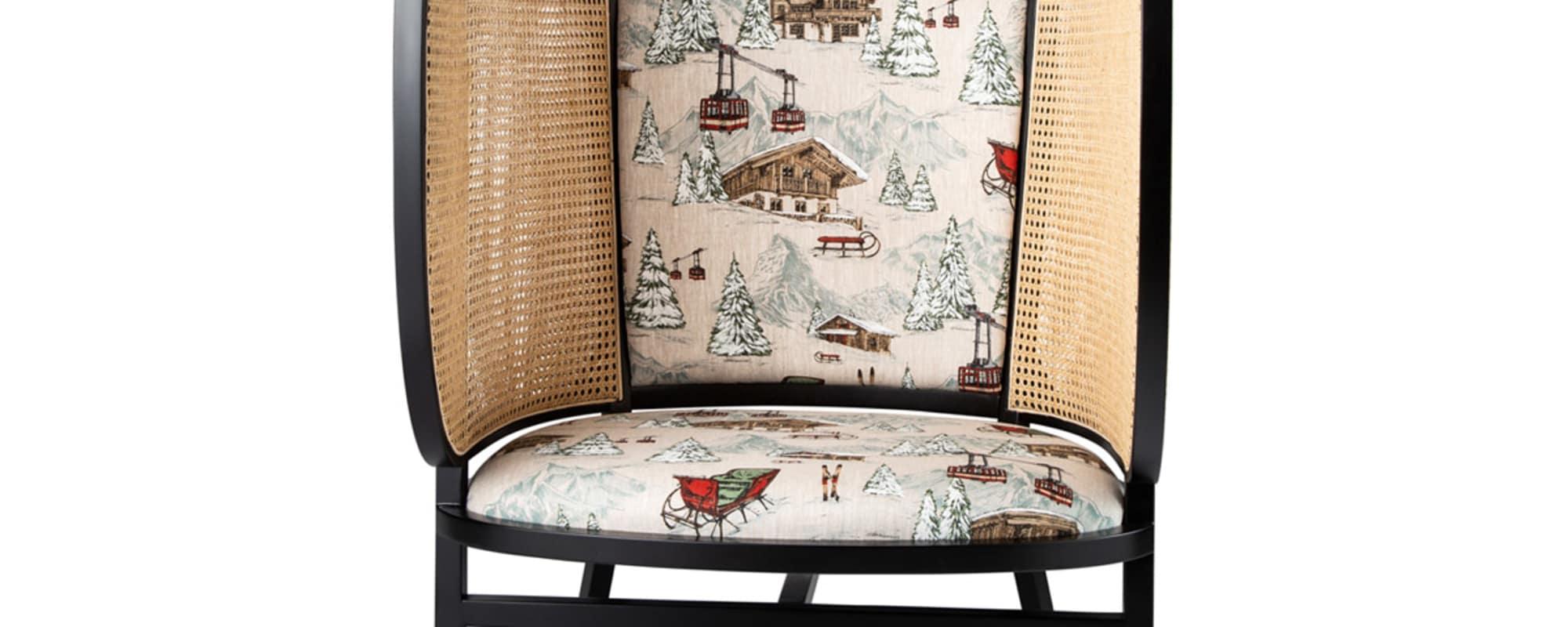 Gebrüder Thonet Vienna, Sessel, Weihnachten, Christmas, Front