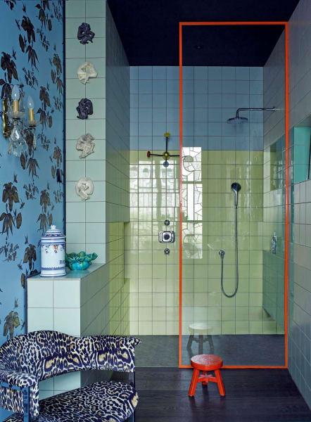 Entworfen wurde das Bad vom Innenarchitekten Federico Masotto.