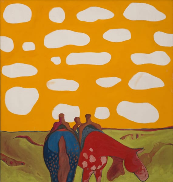 "T.C. Cannon (Kiowa/Caddo): ""All the Tired Horses in the Sun"" (1971–72)."