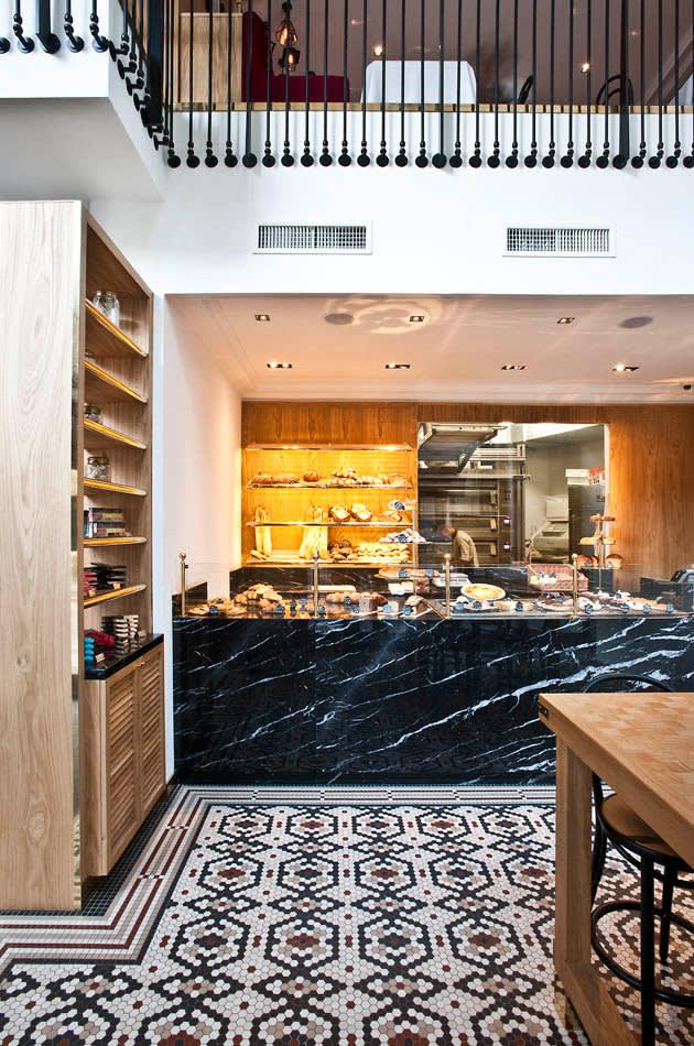 """Le Vrai"" Brasserie und Boulangerie in Mailand"