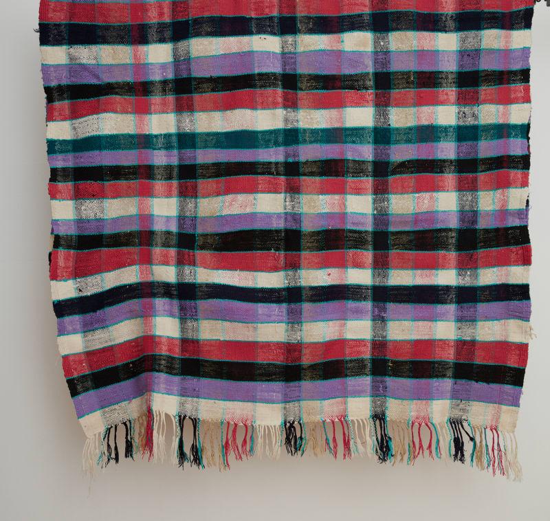 "2. Nora Khereddine, ""Vintage Maroccan Berber Blanket"""