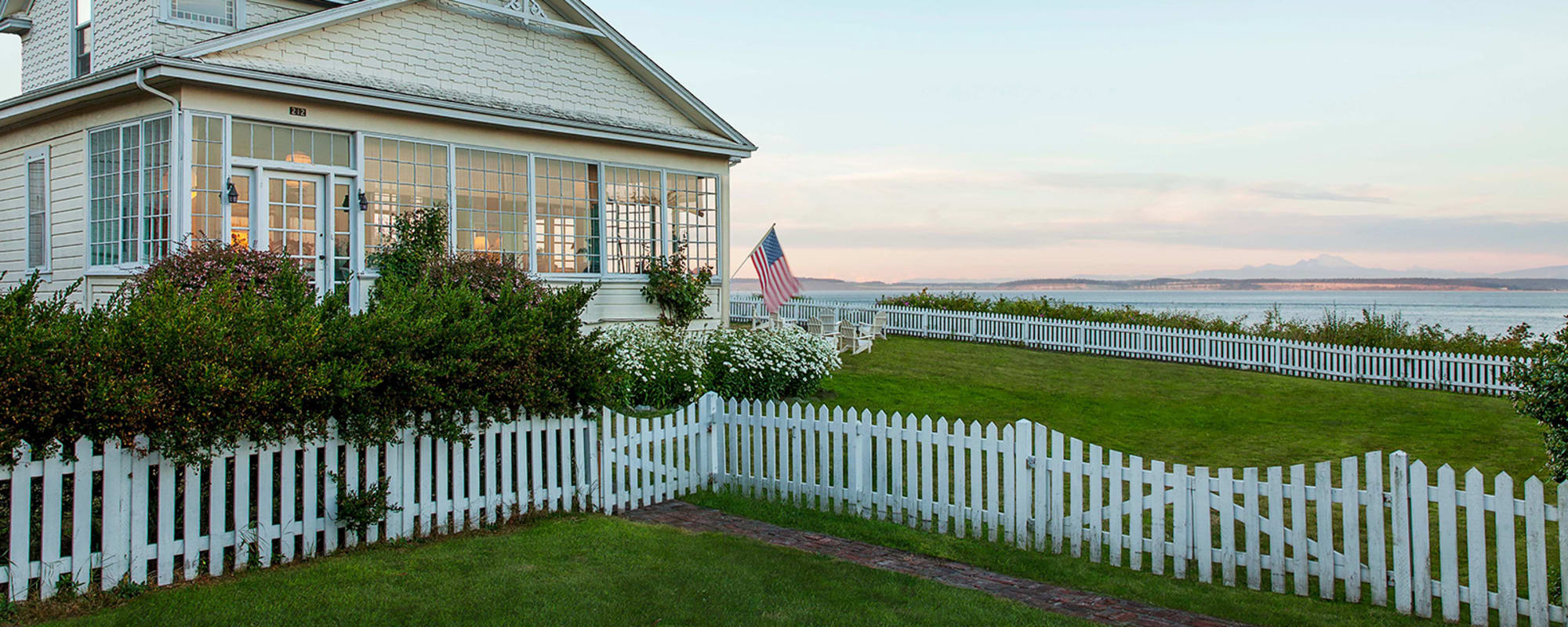 Markham Roberts, James Sansum, Puget Sound, Homestory