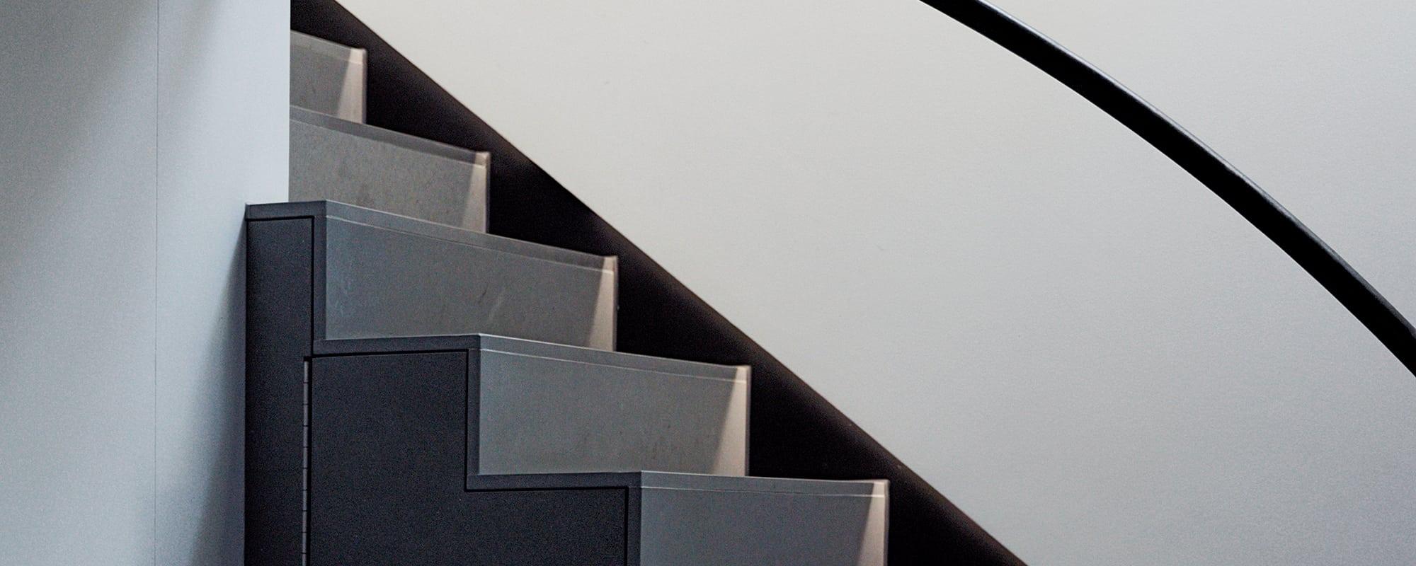 Treppe, Boden, Sandstein, Mansarde, Balkon