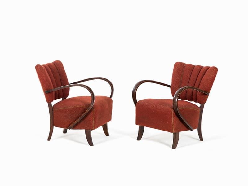 Auctionata_Design_183_Lot102_Jindrich Halabala, zugeschrieben, Paar Armlehnsessel, 1930er