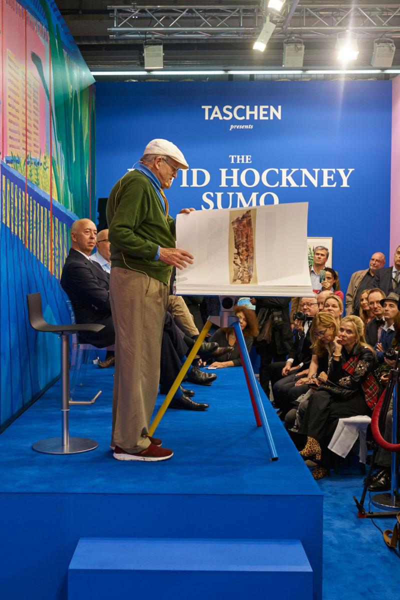 David Hockney Sumo E
