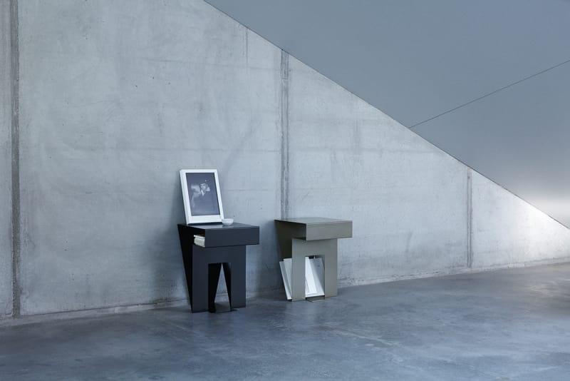 beistelltisch neumann von objekte unserer tage ad. Black Bedroom Furniture Sets. Home Design Ideas